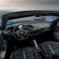 Ferrari retractable hard top for the 488GTB coupé model - interior