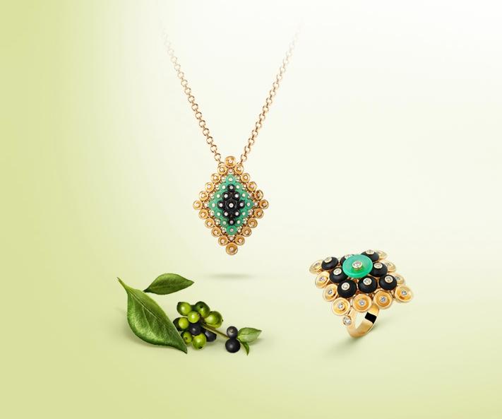 Fine jewellery Van Cleef & Arpels Bouton d'or 2016 collection