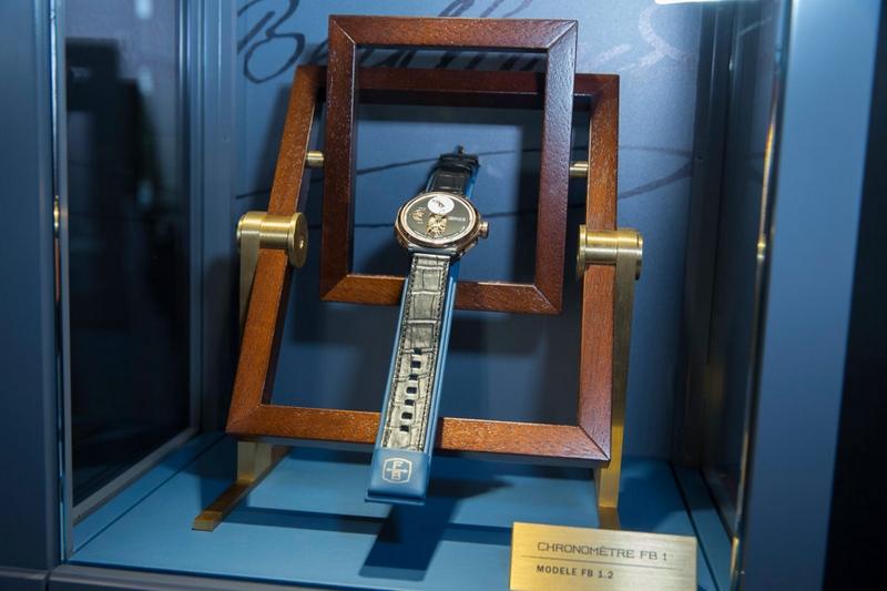 First Chronométrie Ferdinand Berthoud launched at the Yacht Club de France in Paris--