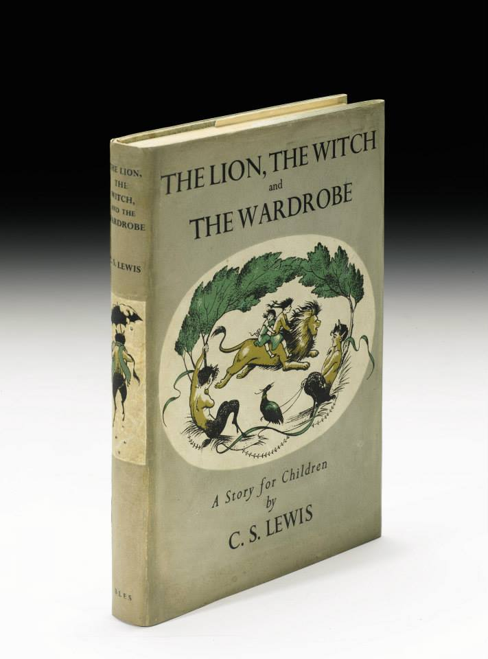 First edition of the first of the Narnia Chronicles (1950)