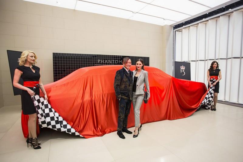 First of 30 Bespoke Rolls-Royce Phantoms presented to Stephen Hung at 2016 Geneva Motor Show-