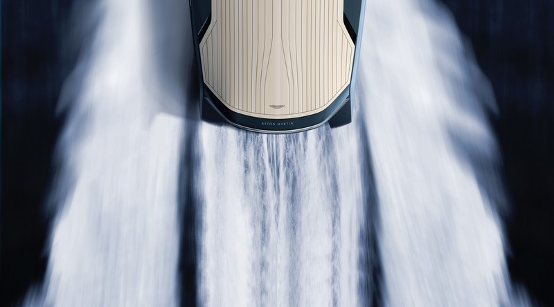 First powerboat developed by Aston Martin and Quintessence Yachts showcased at Milan Design Week