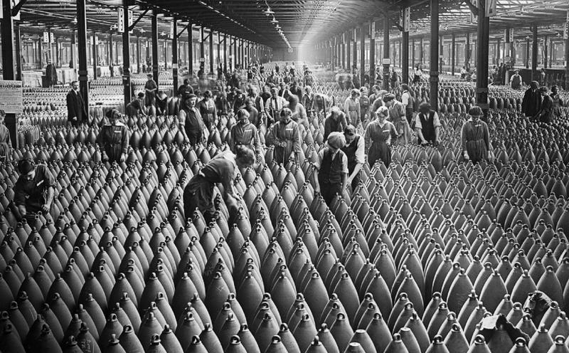 First world war centenary - life at home