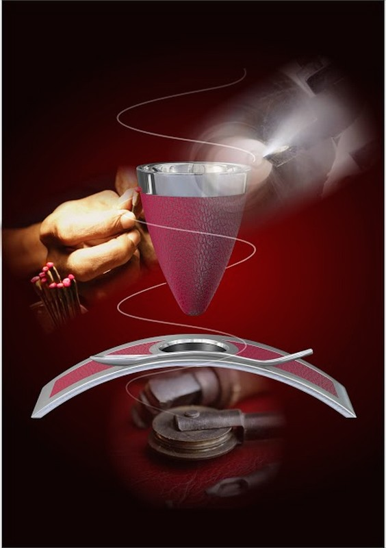Floating_cup_craftman_Deviehl Luxury Coffee Cup -