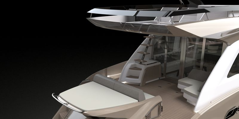 Fly 21 Gullwing - the new flagship of Sessa Marine-