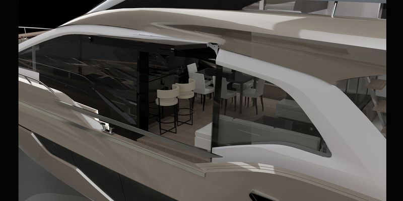 Fly 21 Gullwing the new flagship of Sessa Marine-