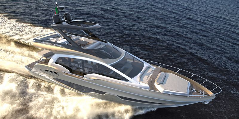 Fly 21 Gullwing - the new flagship of Sessa Marine