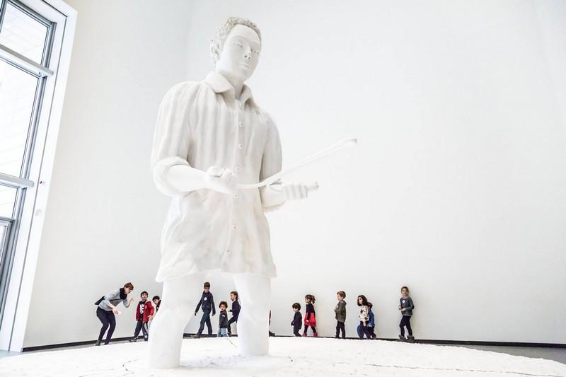 Fondation Louis Vuitton -exhibition for kids