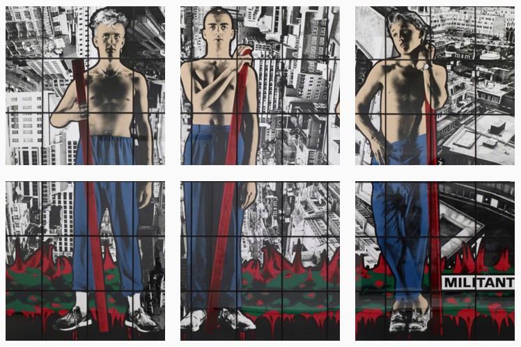 Fondation Louis Vuitton glass panels- militant