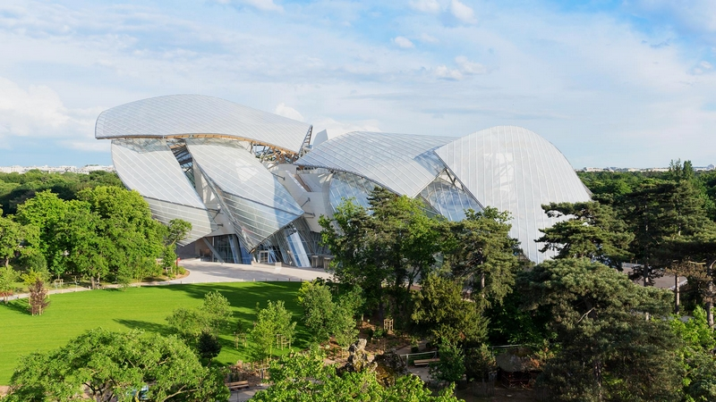 Fondation Louis Vuitton - the building