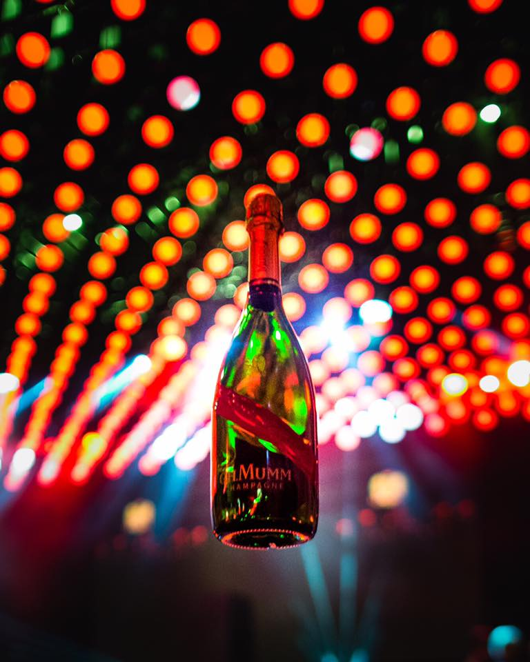 For an elevated celebration -  the new MUMM Grand Cordon