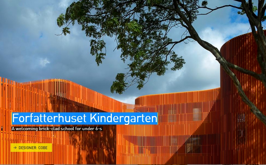 Forfatterhuset Kindergarden - The Designs of the Year 2015 nominees @ Design Museum London