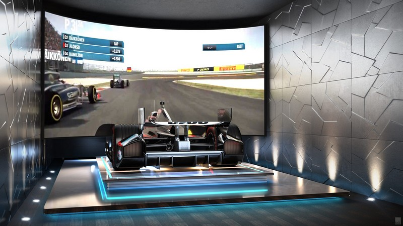 Formula 1 Simulator The Estates at Acqualina Miami 2luxury2com