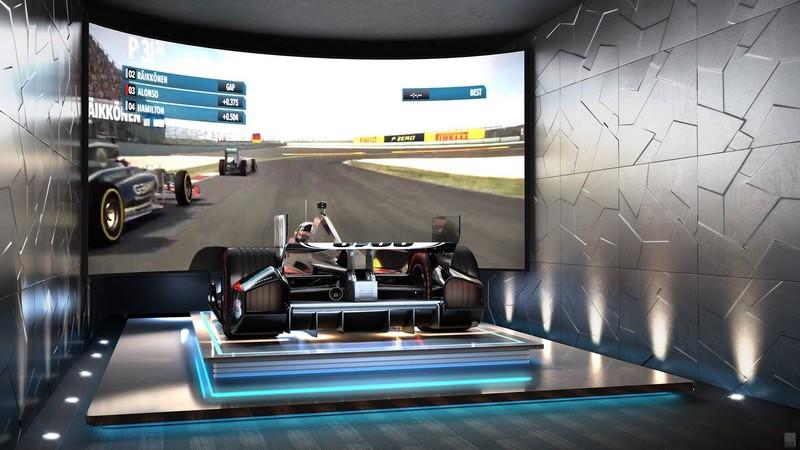 Formula 1 Simulator The Estates at Acqualina Miami 2luxury2com