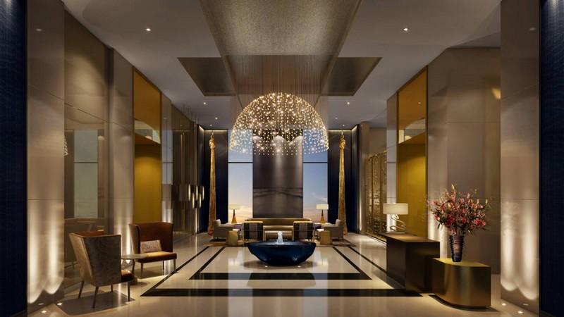 Four Seasons Hotel Dubai International Financial Centre--lobby