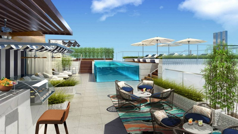 Four Seasons Hotel Dubai International Financial Centre-rooftop pool