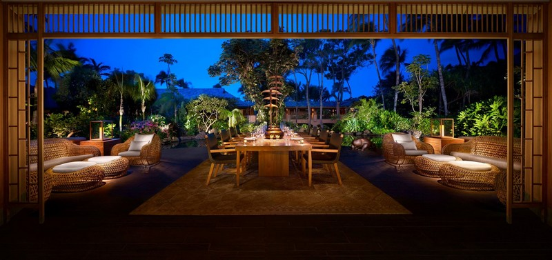Four Seasons Resort Lanai - dining