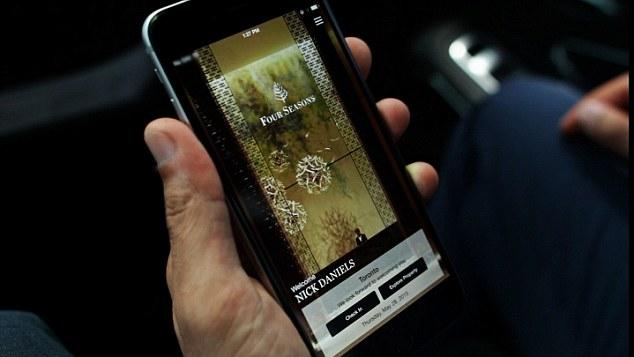 Four Seasons mobile app 2015 version