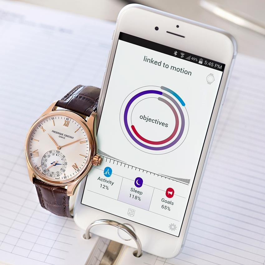 Frédérique Constant The Swiss Horological Smartwatch - baselworld 2015 - 2luxury2-