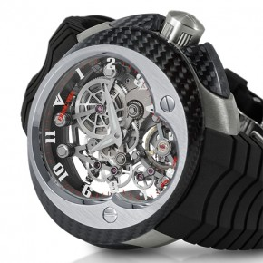 Franc VILA Cobra FV 18E Manual Suspended Skeleton watch