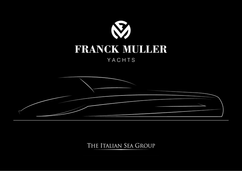 Franck Muller announces a new exclusive partnership with the Italian Sea Group to built Franck Muller Yachts