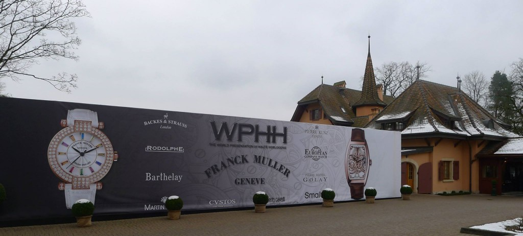 Franck Muller offered an extraordinary exhibition for the 25th edition of the World Presentation of Haute Horlogerie