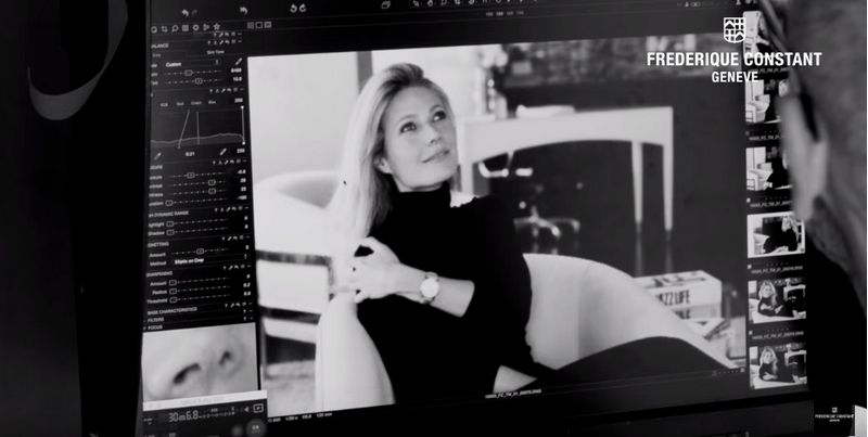 Frederique Constant Global Charity Brand Ambassador Gwyneth Paltrow is supporting DonorsChoose organization with Frederique Constant
