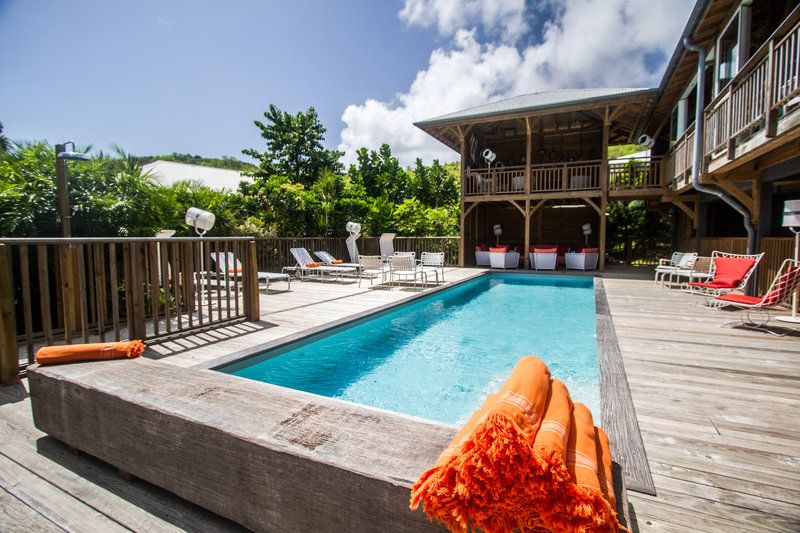 French Coco Tartane, Martinique - by the pool