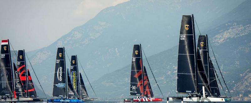 GC32 Riva Cup 2016  Lake Garda-foiling