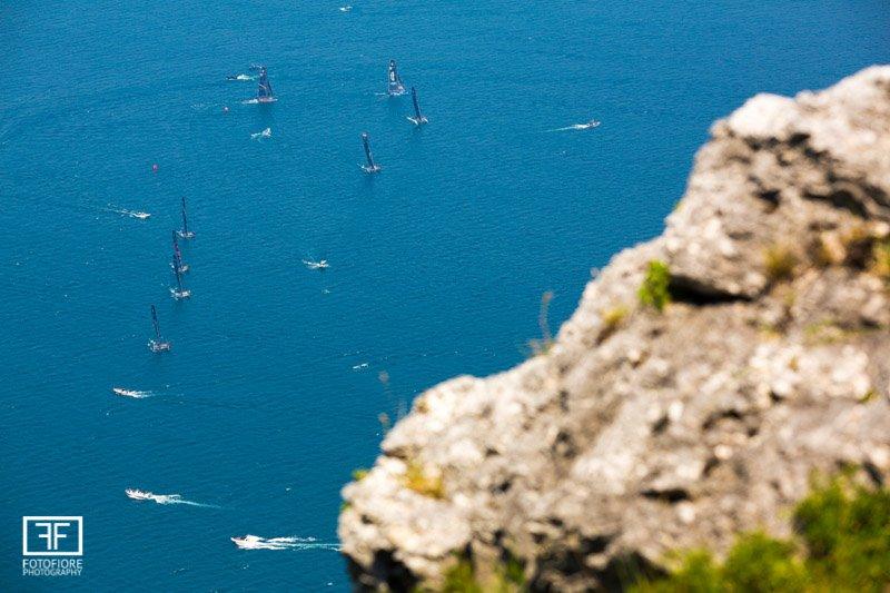 GC32s racing on Lake Garda-
