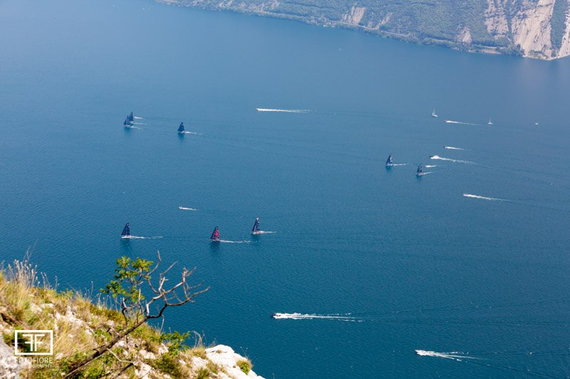 GC32s racing on Lake Garda