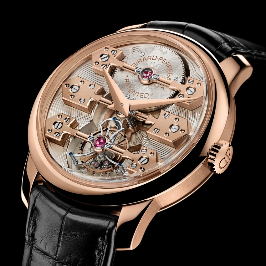 GIRARD-PERREGAUX La Esmeralda Tourbillon watch