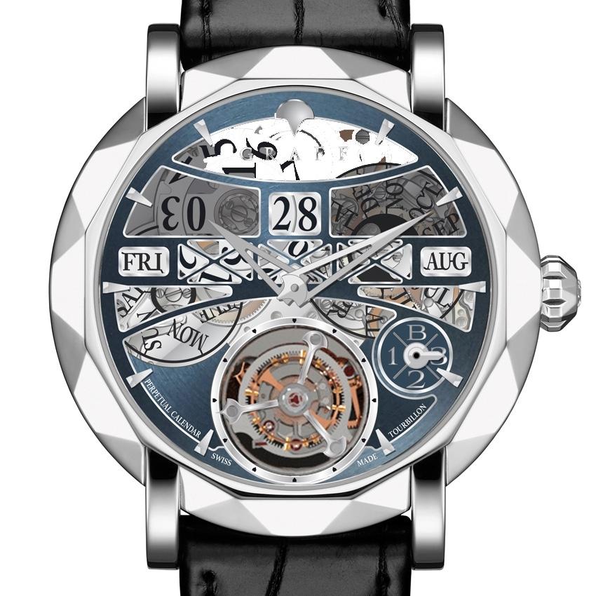 GRAFF DIAMONDS MasterGraff Perpetual Calendar watch