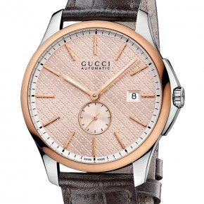GUCCI G-Timeless Slim Automatic watch for 2014 Baselworld