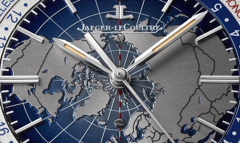 Geophysic Universal Time steel version, equipped with the Jaeger-LeCoultre Calibre 772-the dial
