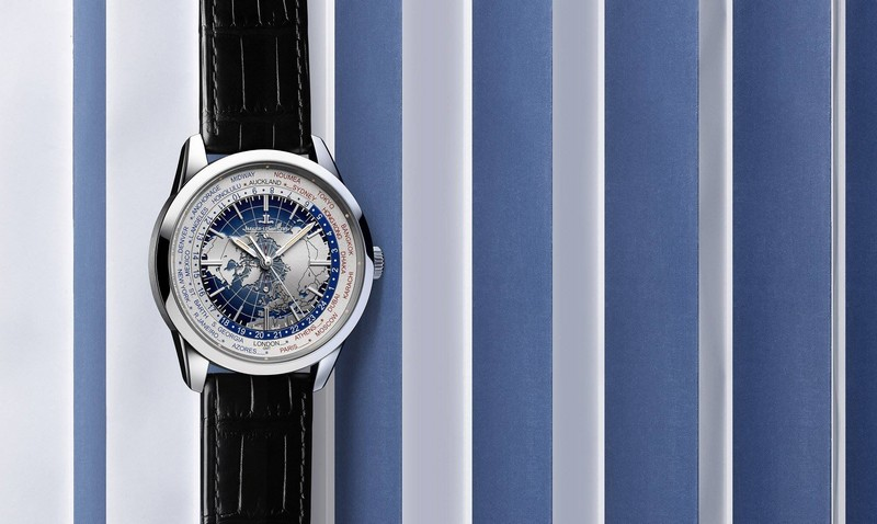 Geophysic Universal Time steel version, equipped with the Jaeger-LeCoultre Calibre 772