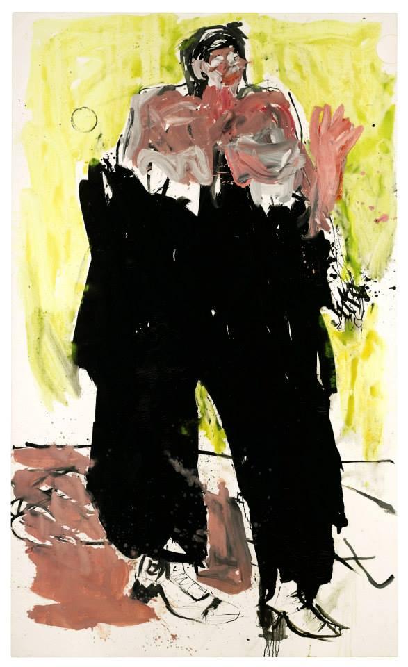 George Baselitz, Exotenremix (2007)