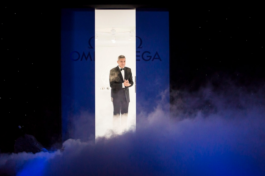 George Clooney for Omega Watches-Houston We Have an Event-May 2015