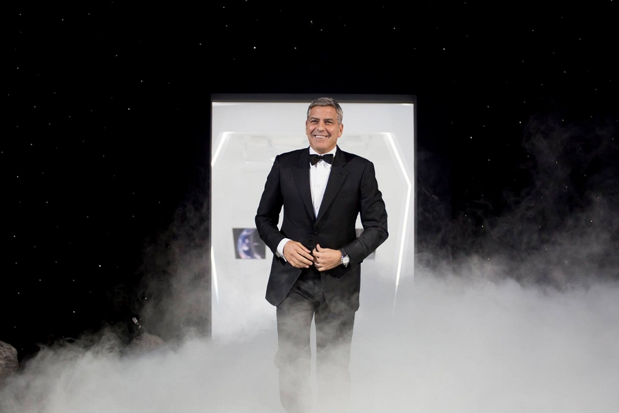 George Clooney for Omega Watches-Houston We Have an Event