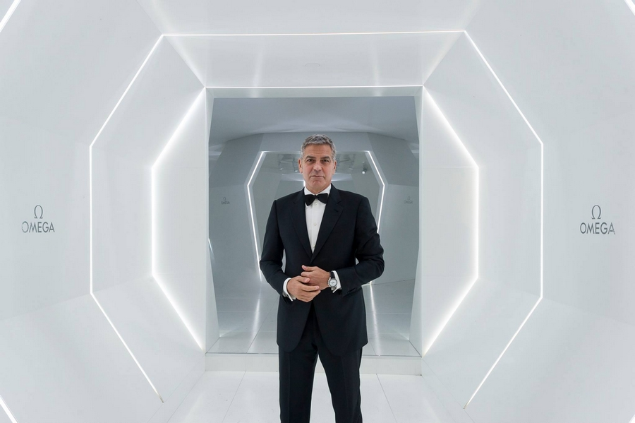 George Clooney for Omega Watches