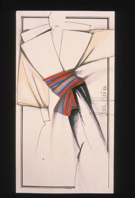 Gianfranco Ferre White Shirt - La camicia bianca secondo a me 2015 exhibition Milan-sketches-
