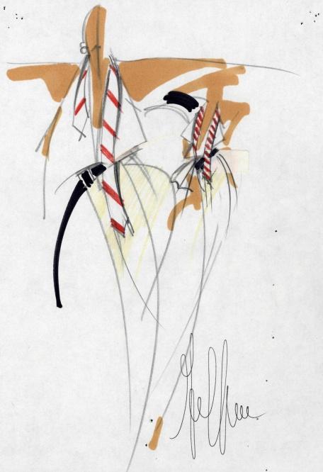 Gianfranco Ferre White Shirt - La camicia bianca secondo a me 2015 exhibition Milan