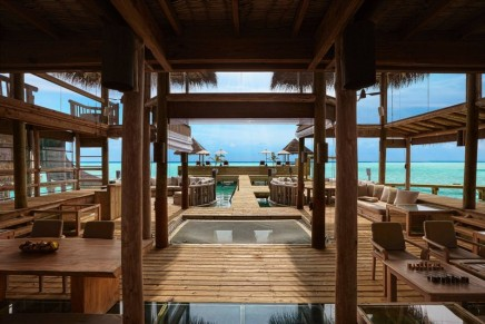 World's largest over-water villa became even better