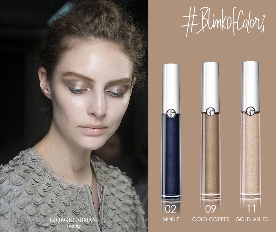Giorgio Armani Beauty - Use eye tint as eyeliner