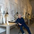 Giorgio Armani at the Interior Design Studio's 'The Art of Living' exhibition on display at the Armani-Teatro for Salone del Mobile 2015