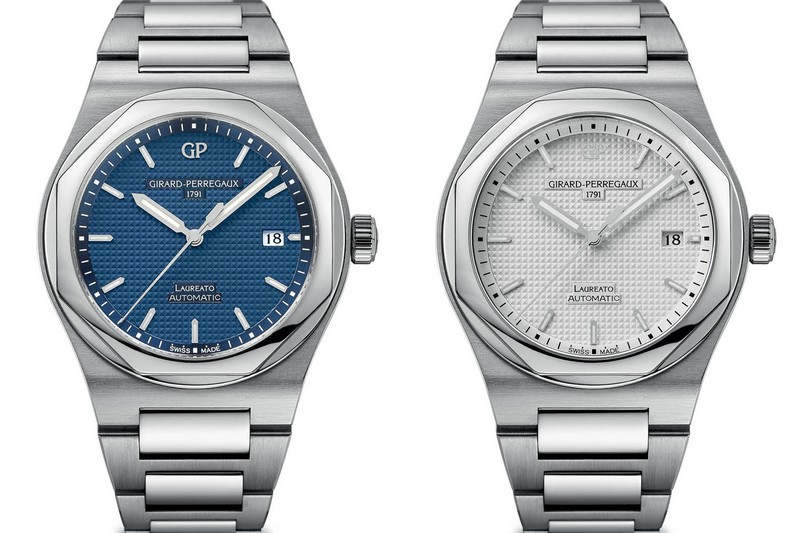 Girard Perregaux Laureato Automatic SIHH 2016 watches