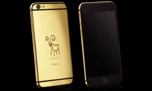 Goldgenie latest Limited Edition 24K Gold iPhone 6 Elite for Chinese New Year - The Year of the Goat 2015