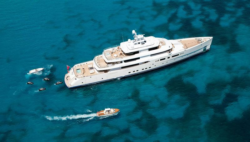 Grace E  She won Motor Yacht of the Year at the World Superyacht Awards 2015