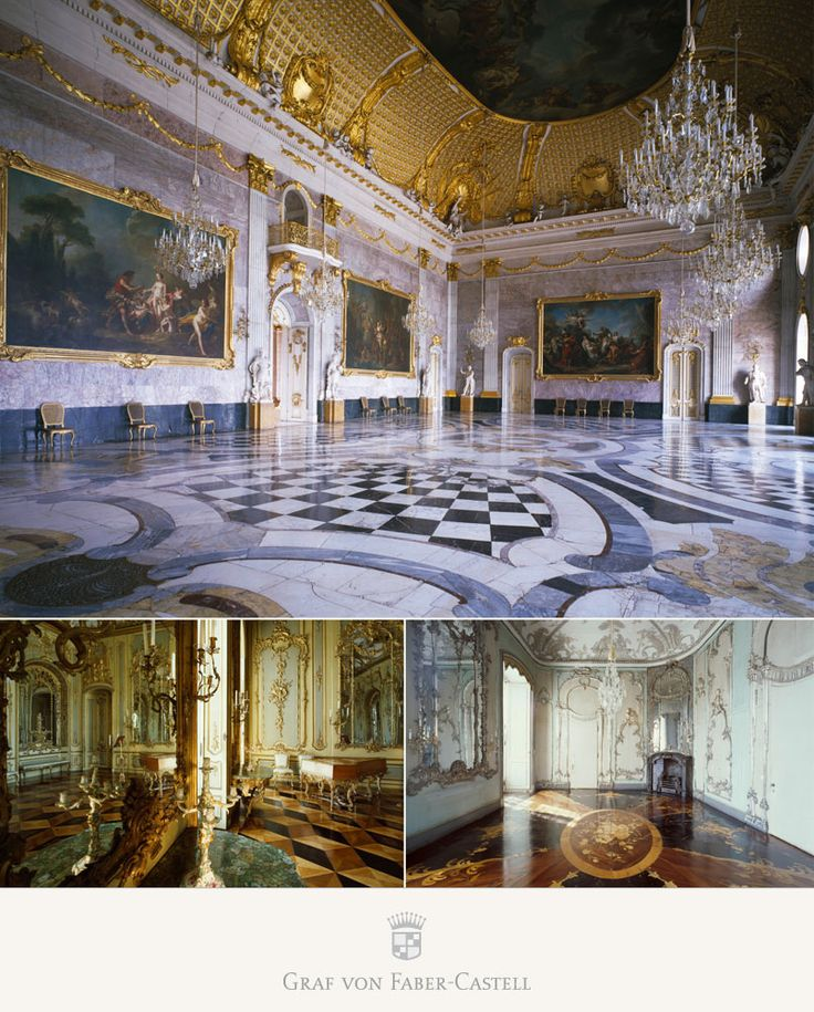 Graf von Faber-Castell Sanssouci Potsdam Pen of the Year 2015-the palace with Magnificent ballrooms, impressive Galleries
