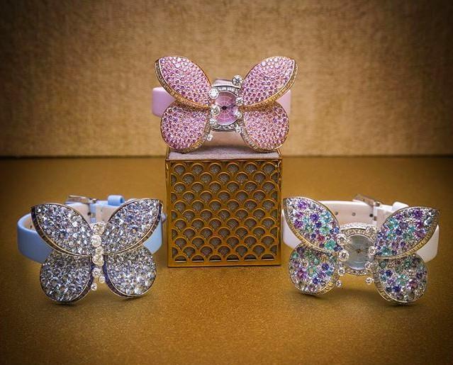 Graff Diamonds Princess Butterfly watch 2016---